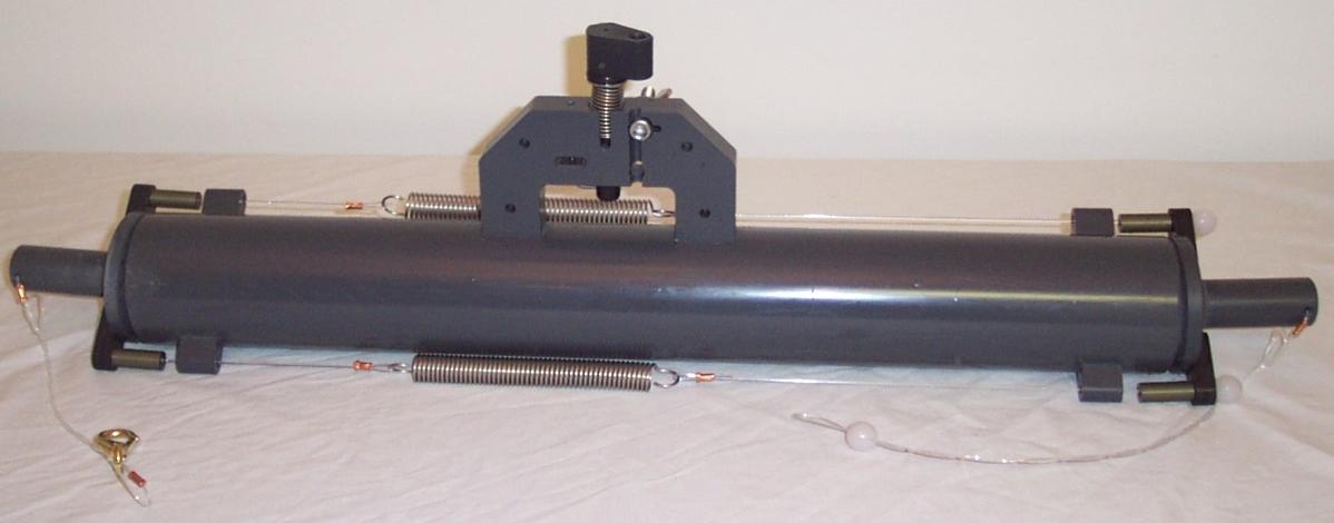 1.7L Horizontal Niskin Water Sampler W/Ext Spring