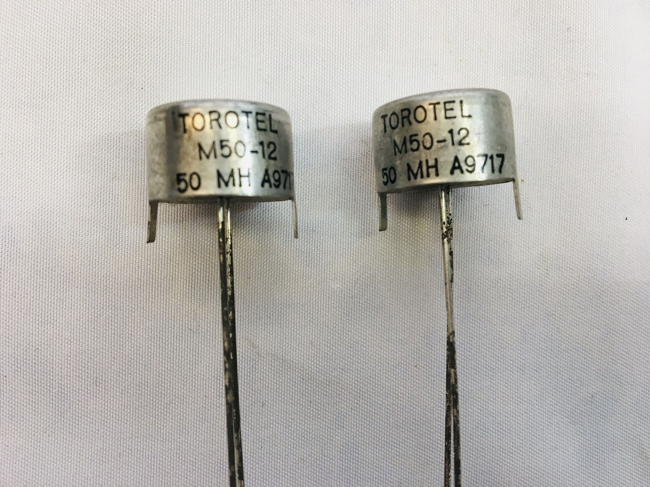 Inductor Torotel Inc. M50-12, 50MH