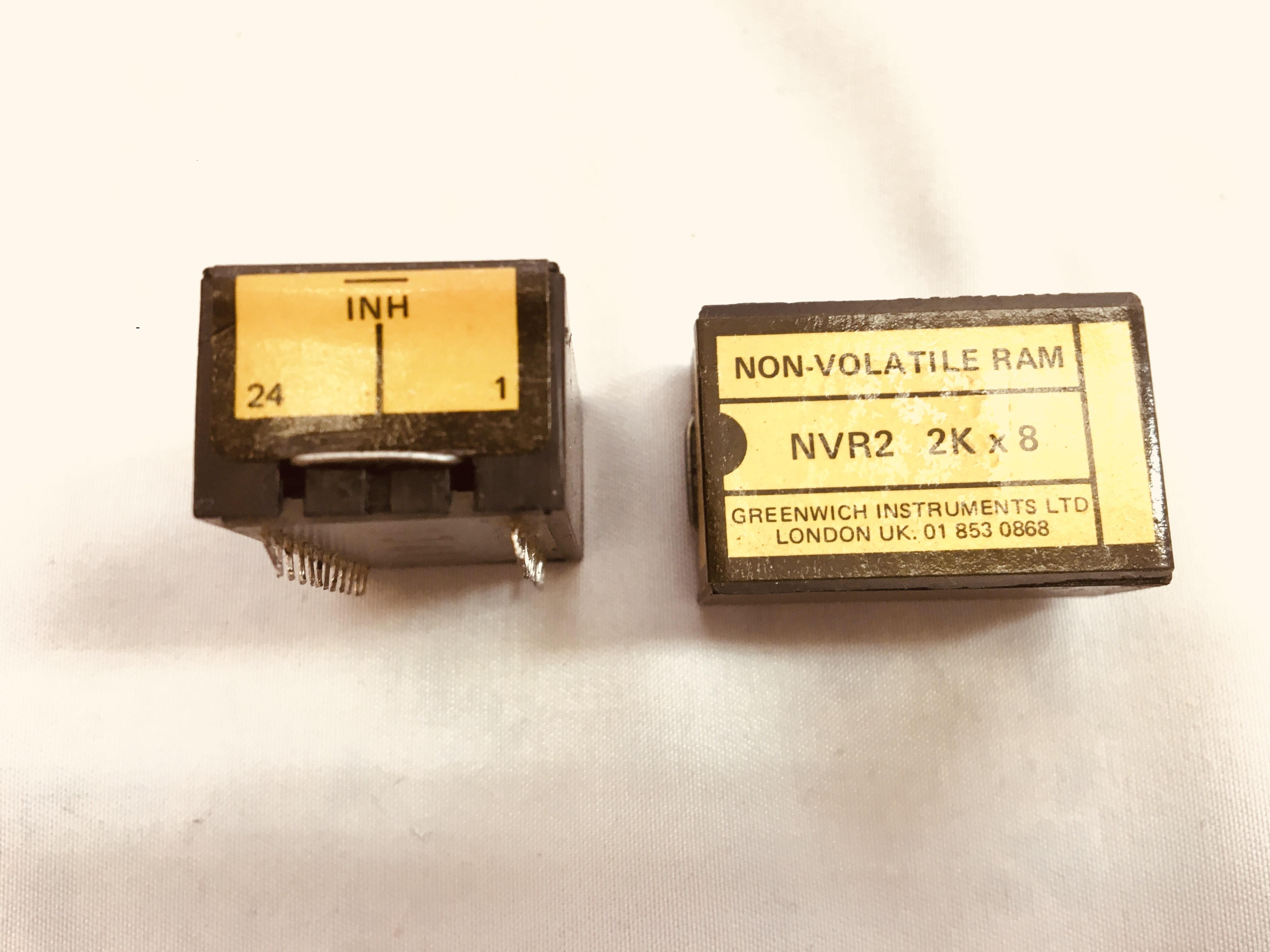 IC,NVRD2 2KX8 BATTERY RAM
