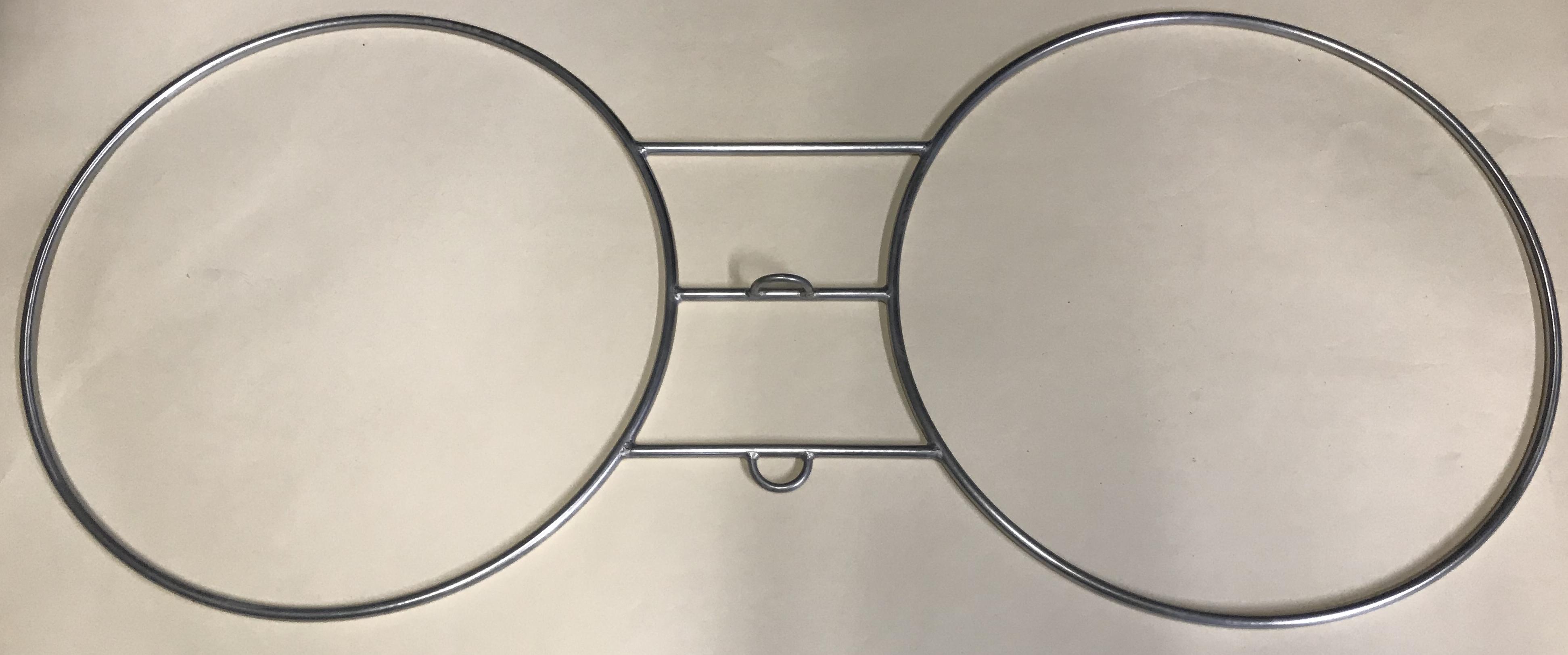 Bongo Rings, 60cm Stainless Steel