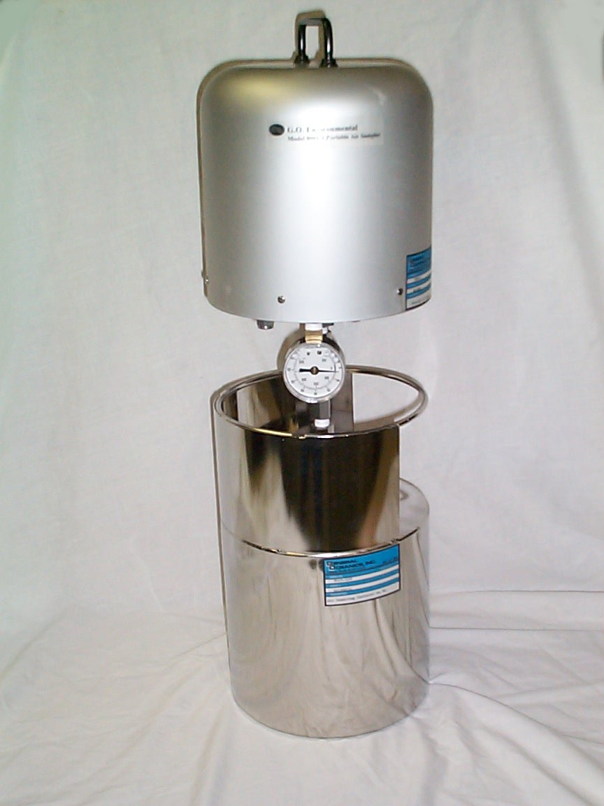 PORTABLE AIR SAMPLER (Does not Include canister)