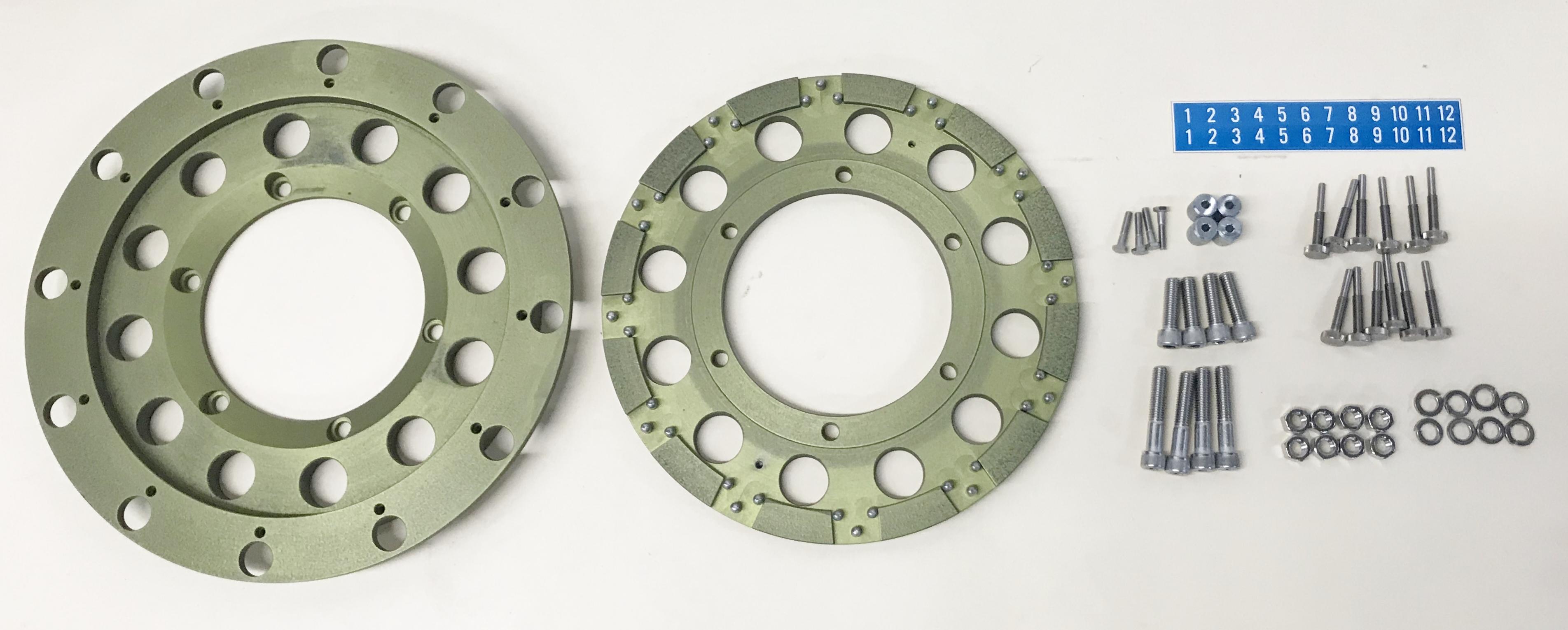 Adaptor Plates 5 L-12 Liter 12 Pos