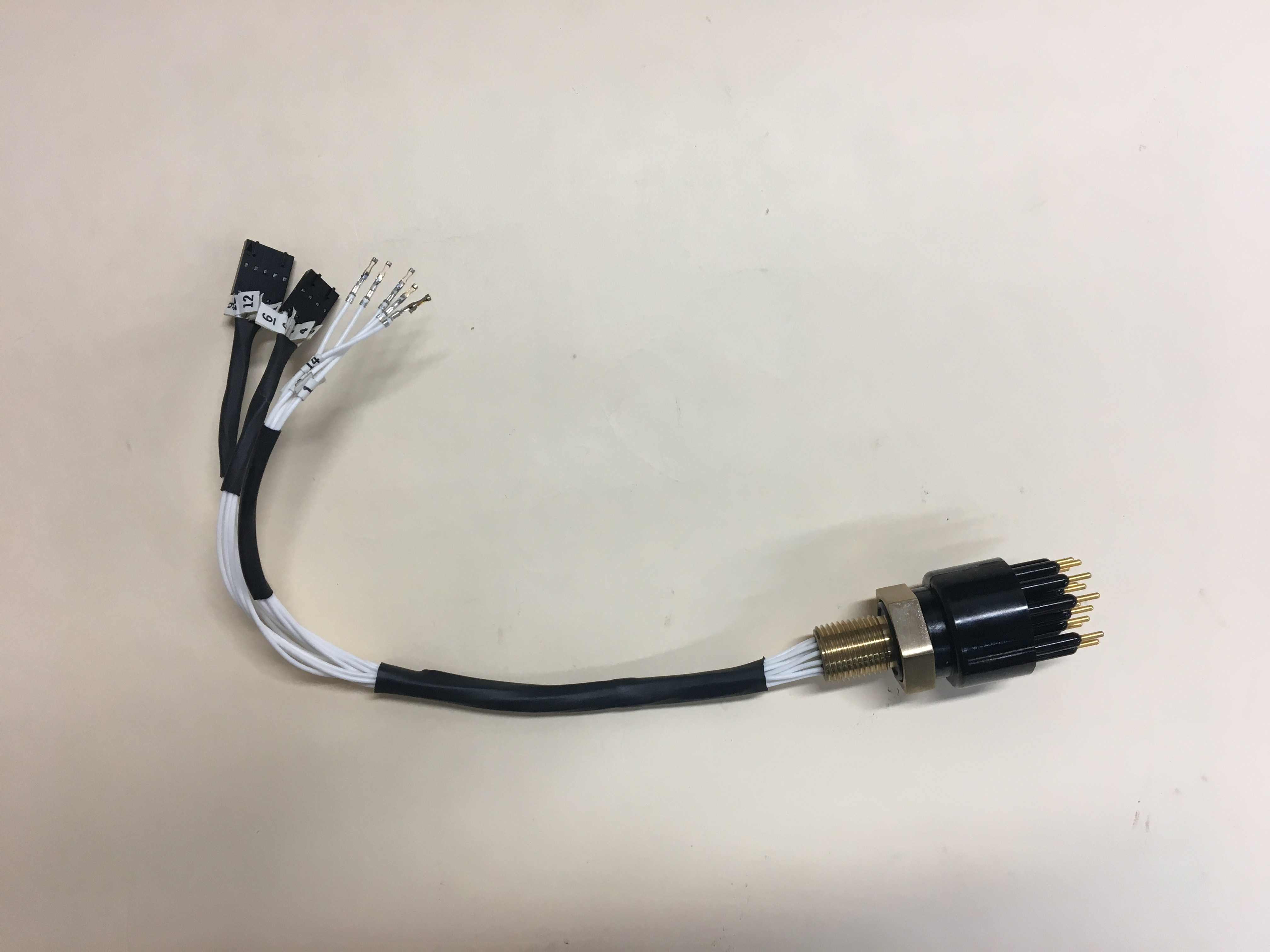 Wiring, 1018 Bulkhead Connector Assy.