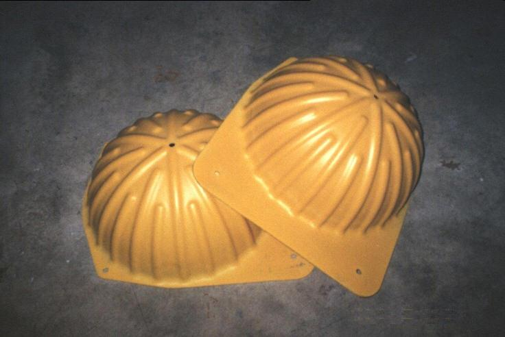 "HARD HATS 17"" FOR GLASS FLOTATION (set)"