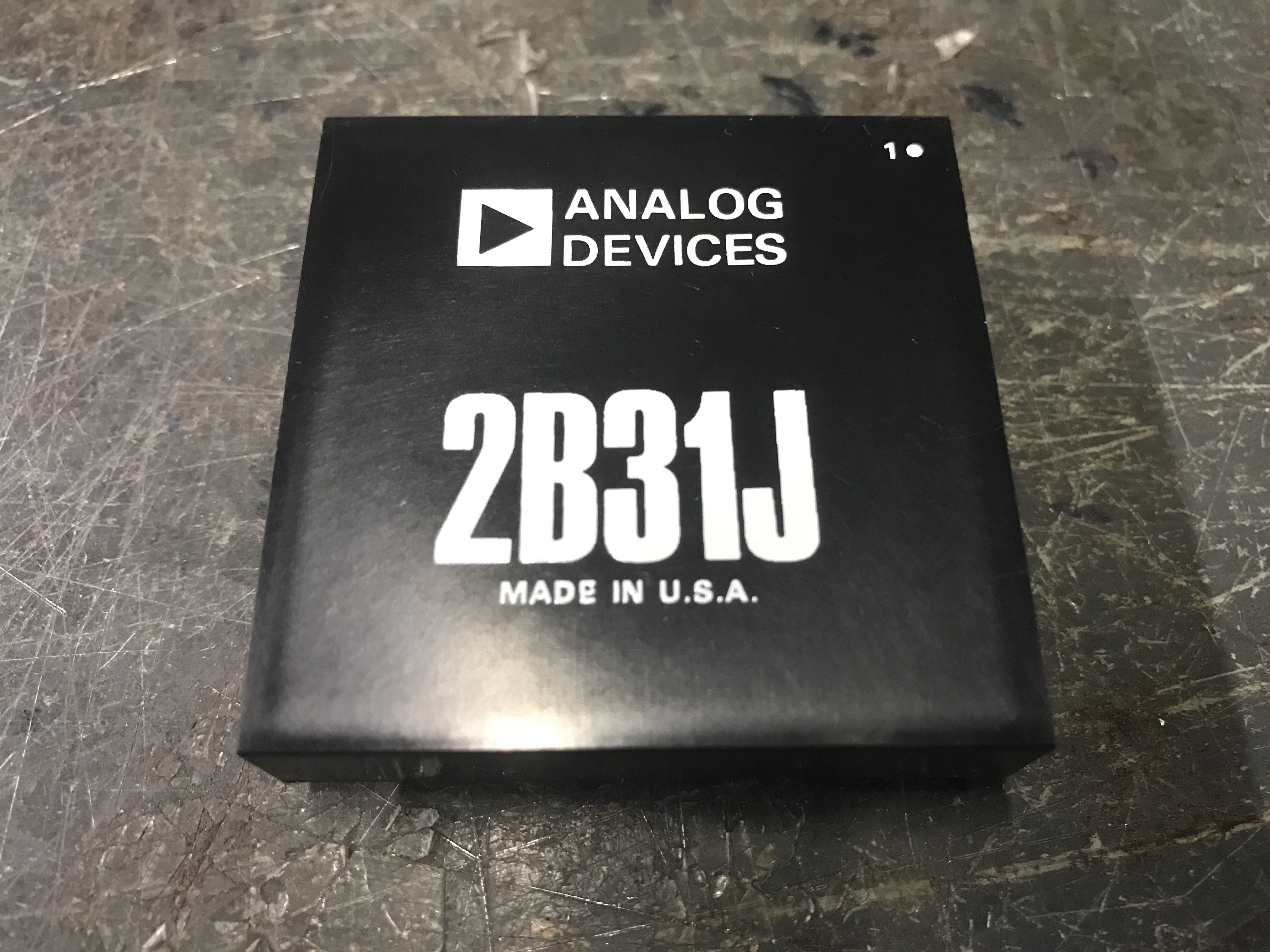 Analog Devices 2B31J Industrial Control System
