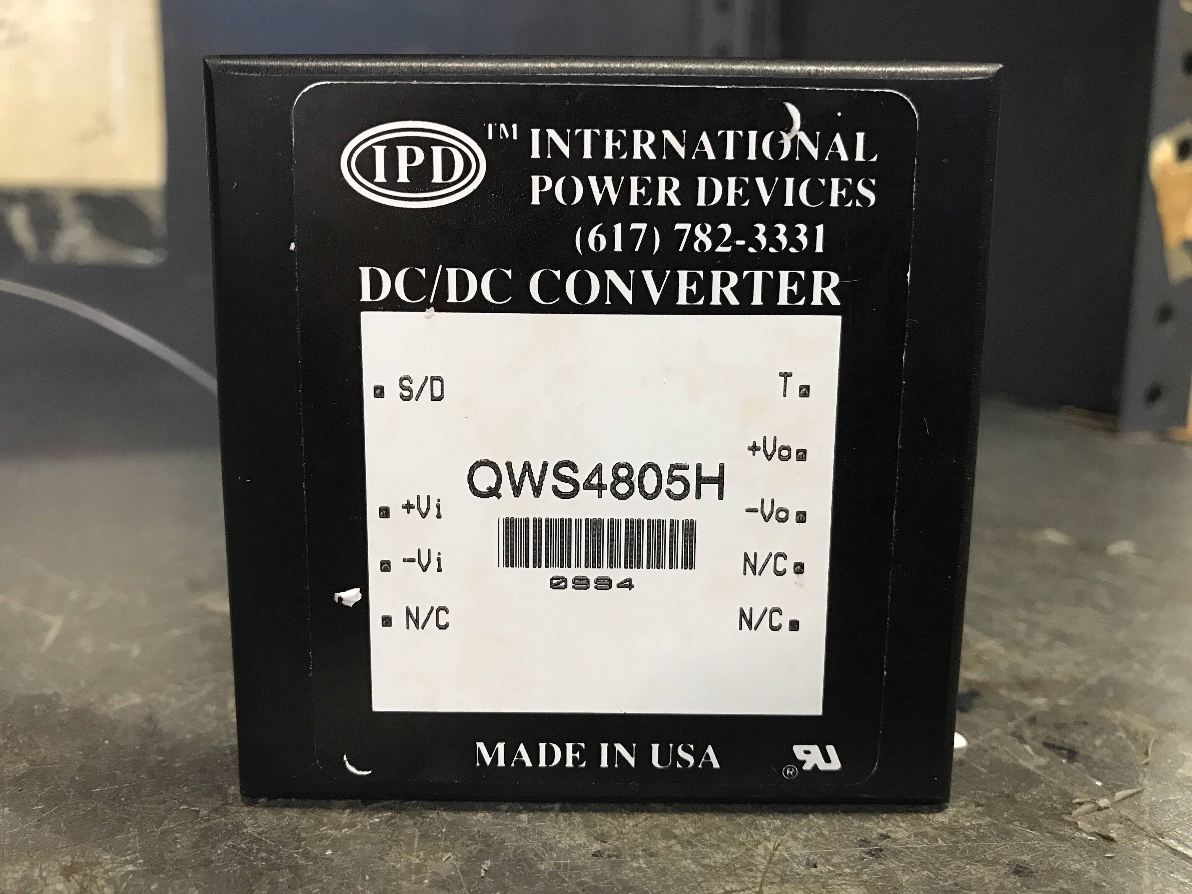 DC/DC Converter IPD QWS4805H