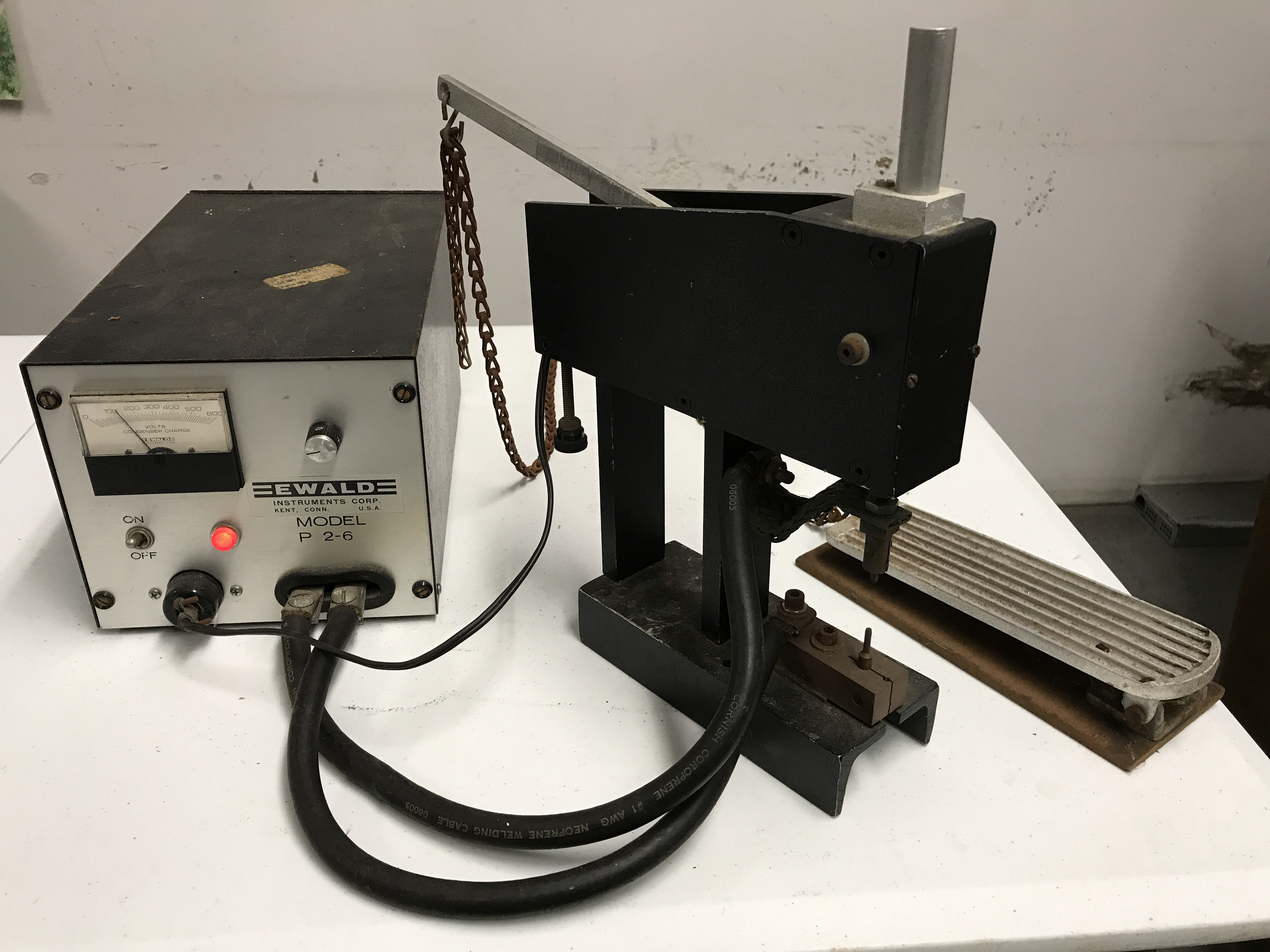 EWALD Welding Head and Power Source Model 4T