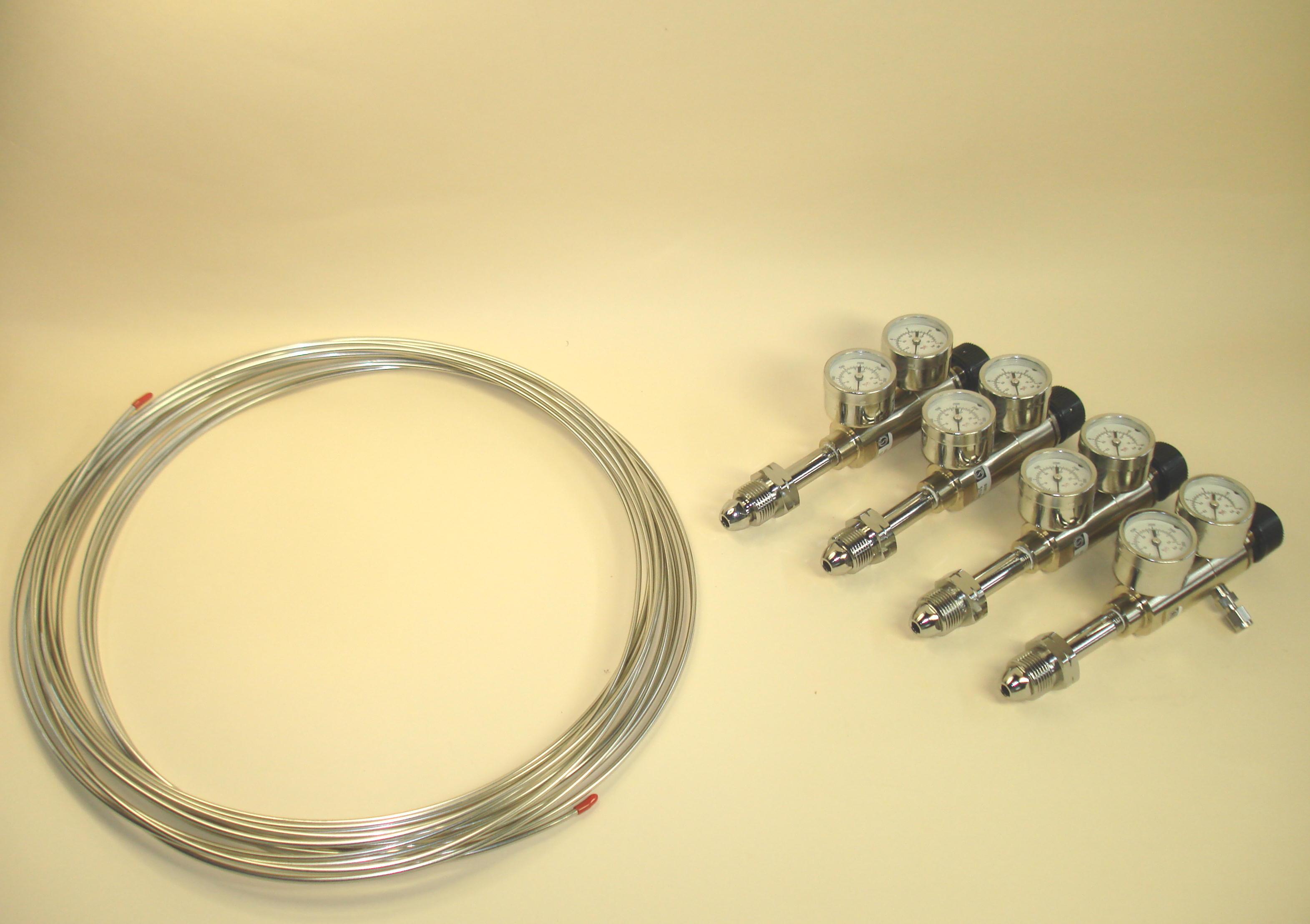 Kit, Gas Regulator w/ CGA 580 Fittings