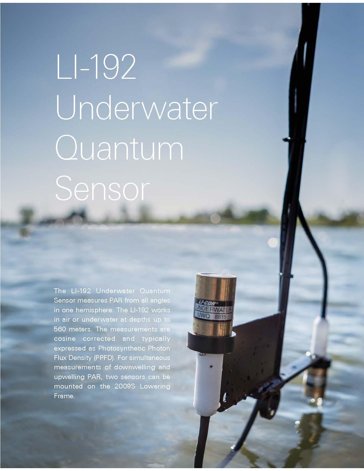 LICOR LI-192SA LIGHT SENSOR